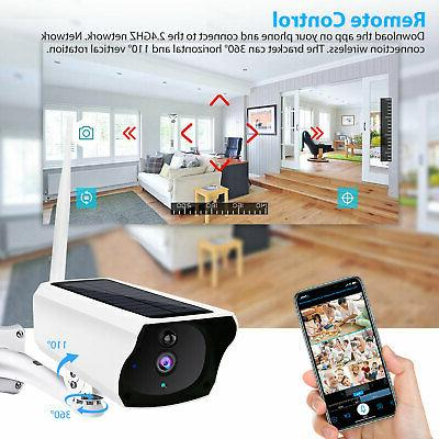 Outdoor Wireless Camera 1080P HD Security Night Vision