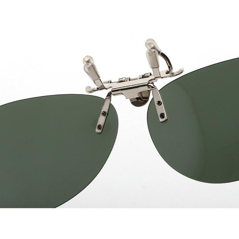 Kachawoo clip <font><b>night</b></font> <font><b>vision</b></font> glasses driving sunglasses <font><b>on</b></font> myopia glasses UV400