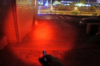 Pen Type Red Light Flashlight Torch Night