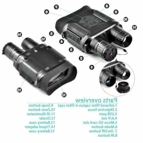 Solomark Binocular NV400 Photo HD Digital
