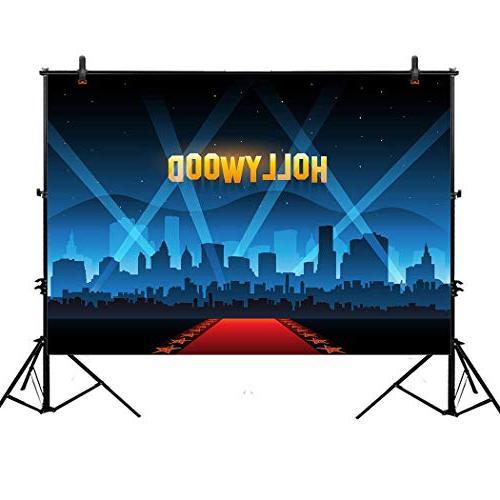 photography backdrop hollywood night movie