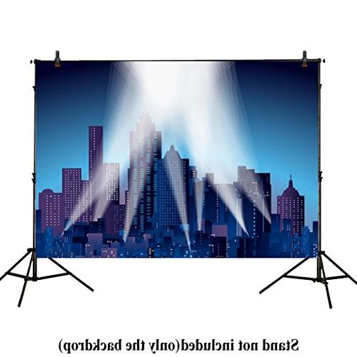photography backdrops superhero super city
