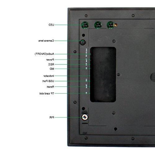 MAGENDARA HD 720P PIR Camera Detection Home Camera Nanny with Vision