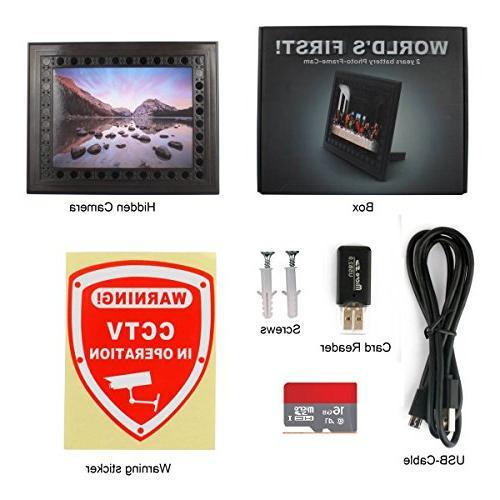MAGENDARA 720P PIR Camera Detection Home Nanny Video with Night Vision