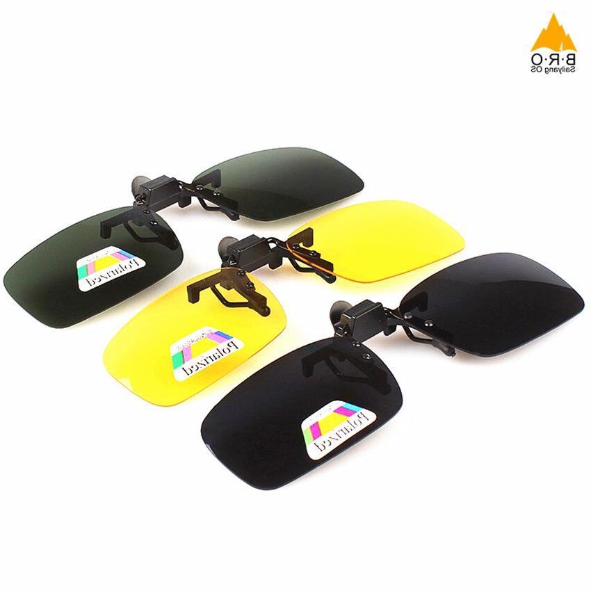 <font><b>Vision</b></font> Men Clip Sport Sunglasses Eyewear
