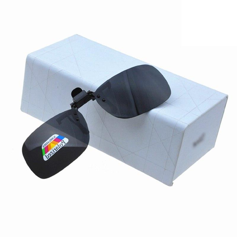 Polarized Clip <font><b>Vision</b></font> Glasses for Men Women Clip Sport Sunglasses