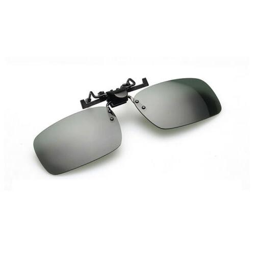 Polarized Night Clip-on Driving Glasses