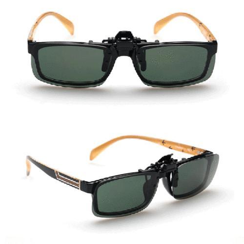 Polarized Night Clip-on Lens Sunglasses Driving