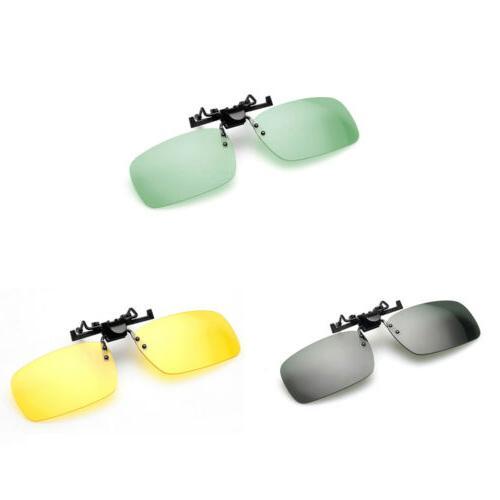 polarized day night vision clip on flip