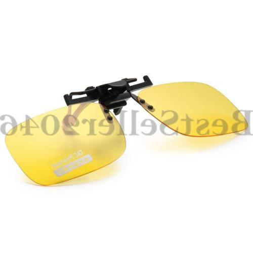 Polarized Night Vision Flip Glare Yellow