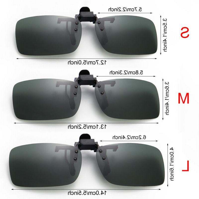 Polarized Glasses Night Vision Clip On