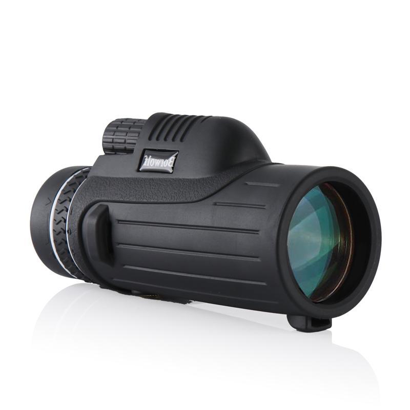 Borwolf Portable <font><b>Vision</b></font> HD Monocular <font><b>Binoculars</b></font> High Power telescope