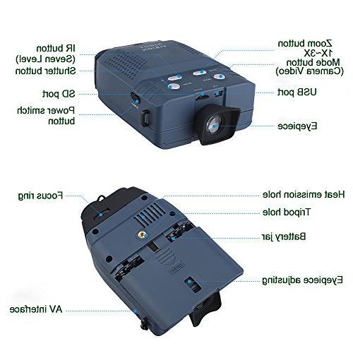 Astromania Portable Vision Monocular Micro Sd Card