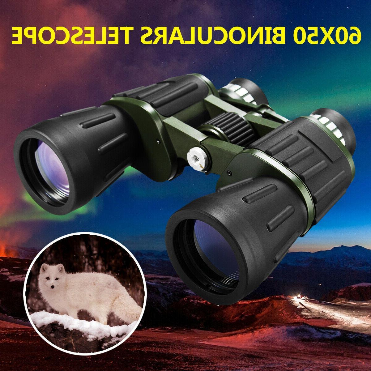 Portable Night HD Binoculars Hunting Camping Telescope +