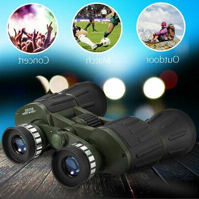 Portable HD Binoculars Hunting Telescope Outdoor + Bag