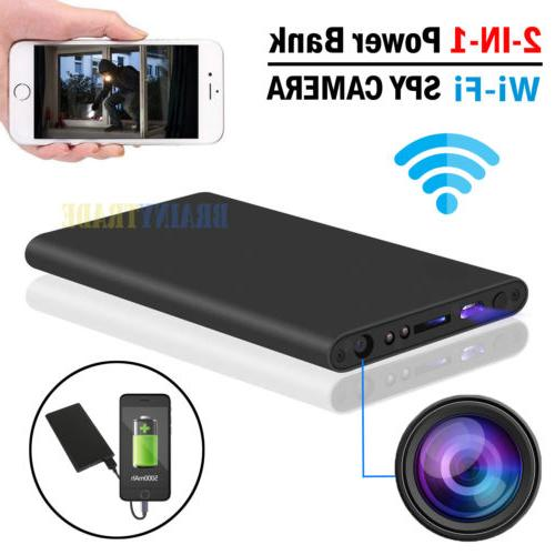 Power Bank Spy Hidden Camera Night Vision HD 1080P DVR WIFI