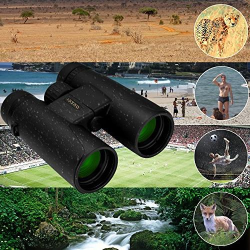 Binoculars FMC Waterproof, and Binocular Carrying for Camping, Concert