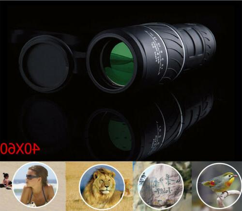 Pro Zoom HD Monocular Camping Telescope+Bag Vision