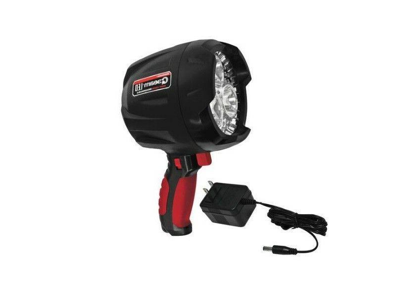 qbeam led night vision rechargeable spotlight w