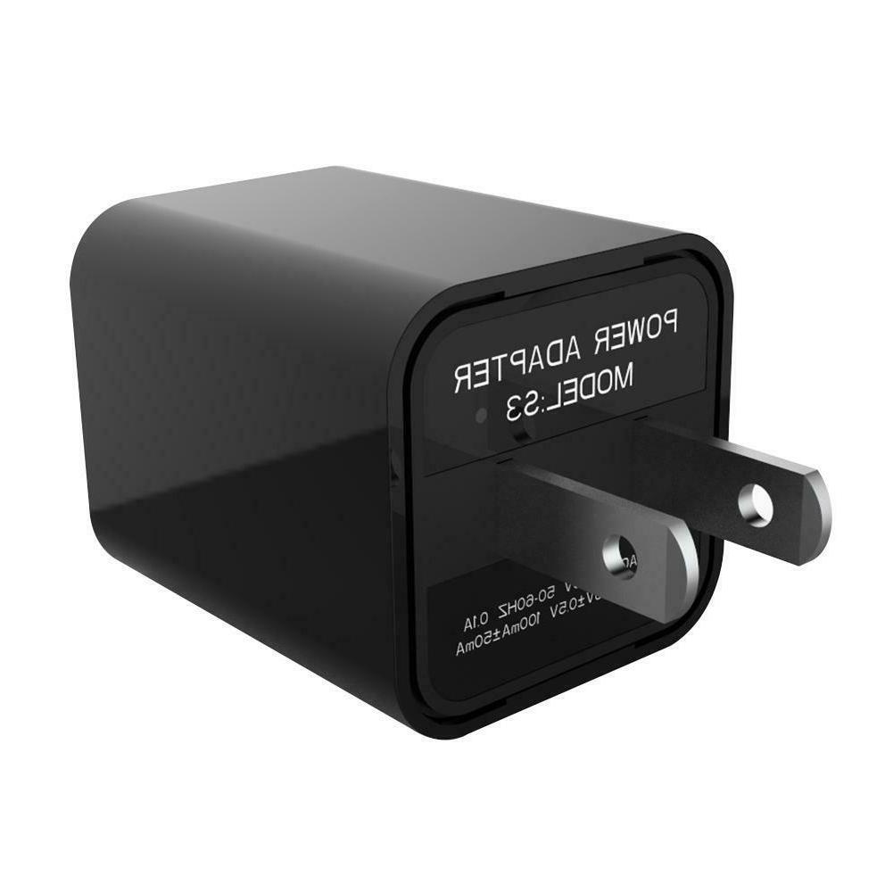 S3 1080P FHD Video Secret Charger Vision TF Card