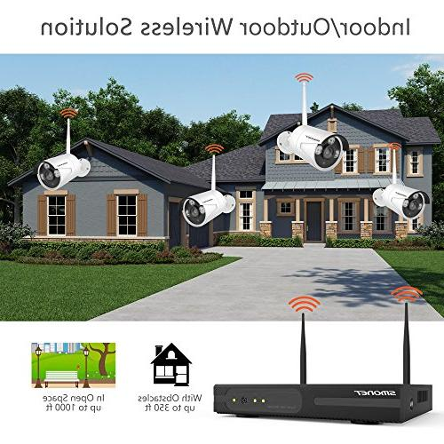 System,SMONET 960P HD Wireless Network IP Security Camera 960P IP Cameras,P2P,Easy Remote Hard