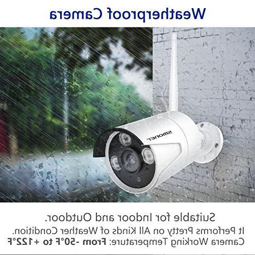 Security System,SMONET Camera 960P IP Cameras,P2P,Easy Hard