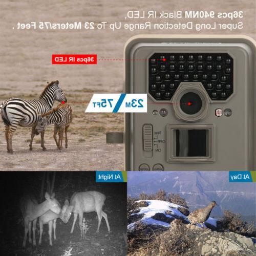 Bestguarder Camera Trail IR Night Vision Waterproof US