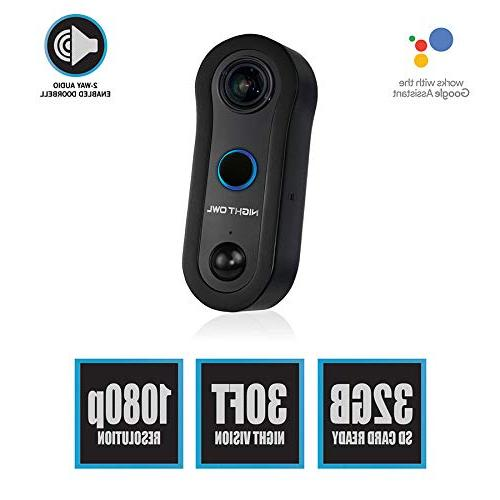 Night Owl 1080p microSD Black