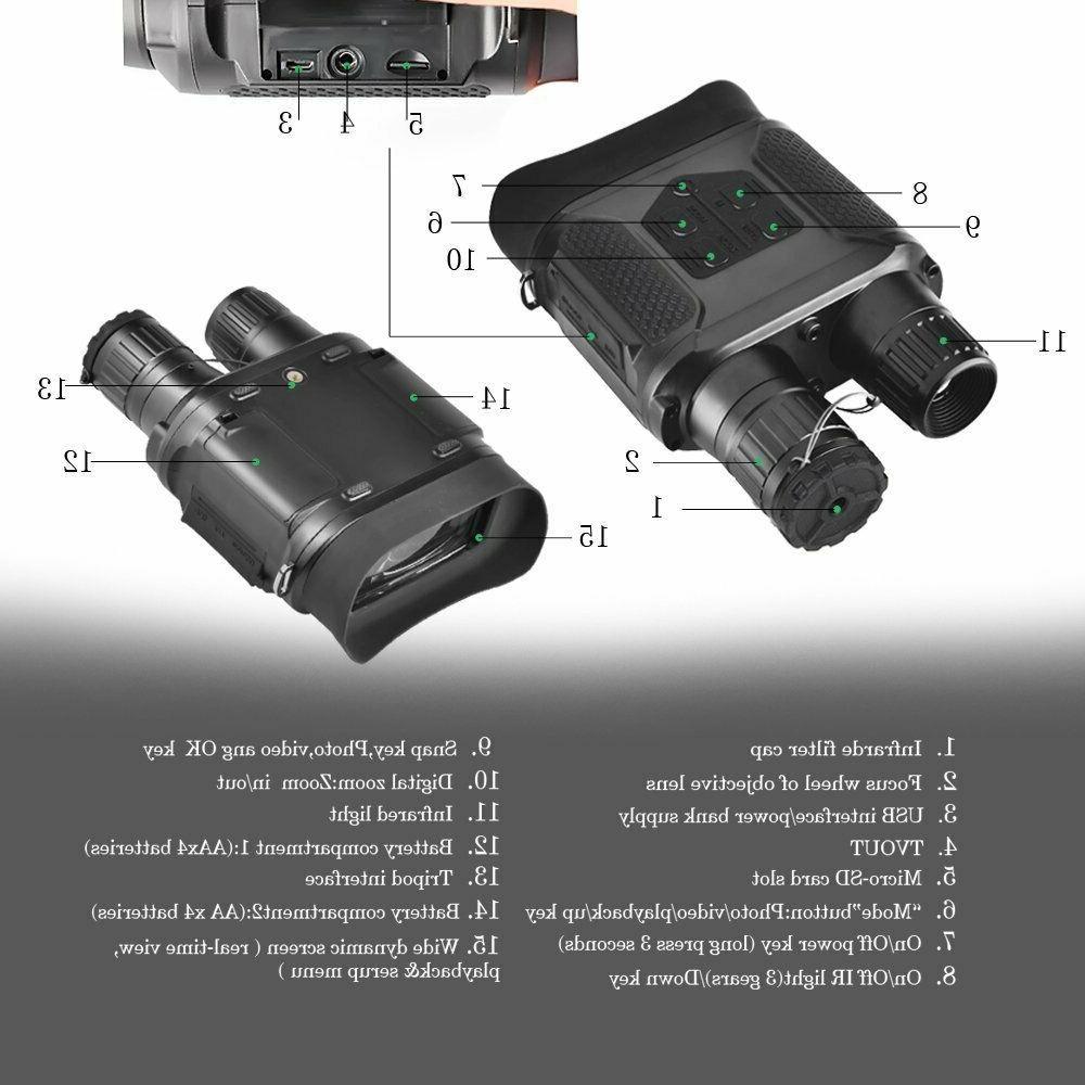 SOLOMARK Night Vision Binocular Hunting Large