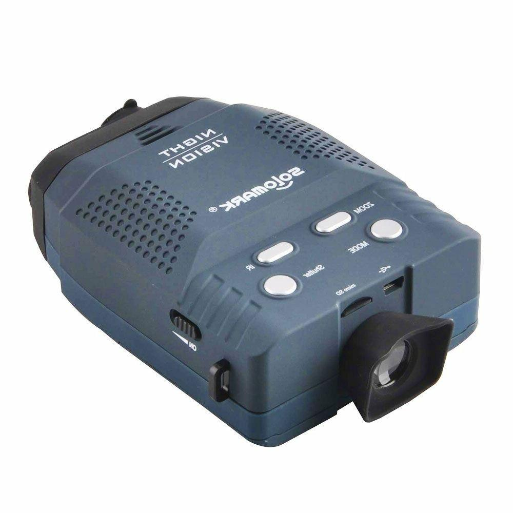 Solomark Night Vision Monocular in the Dark-records Images a