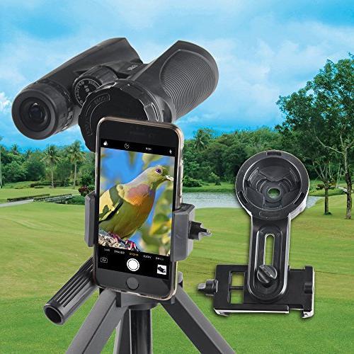 Solomark Smartphone Adapter Phone Adapter Adapter for Spotting Binocular Telescope