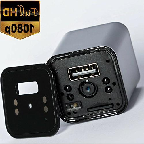 Hidden Vision Security Cameras - Nanny Cams - USB Wall - Camaras - Portable Cop