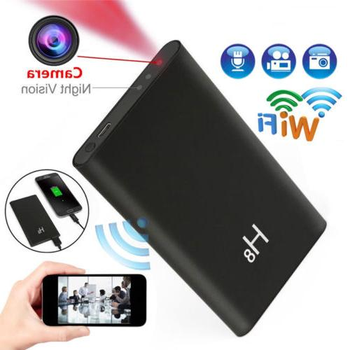 Spy Hidden WiFi Camera Power Bank HD 1080P Night Vision DVR
