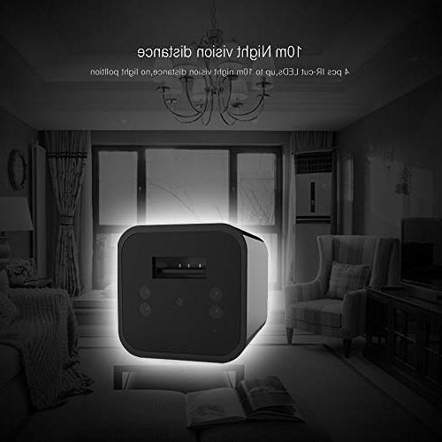 Spy Camera - Hidden - Vision - Nanny Cam - No WiFi Needed HD Camera Detection