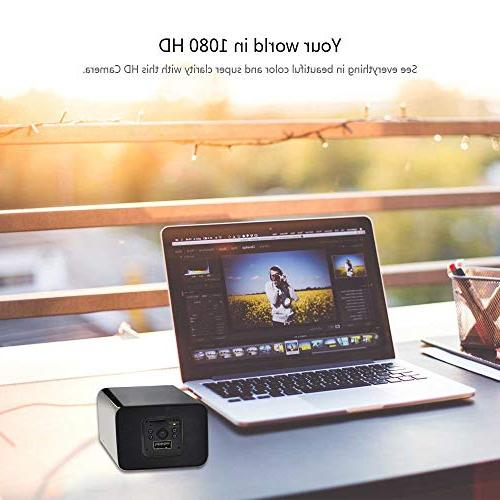 Spy Camera - Camera - Night Vision - Nanny Cam - No WiFi Needed HD Camera - Detection - Recording