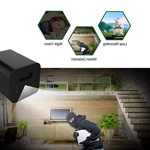 Spy Camera - USB Charger - Nanny WiFi Needed - HD Camera Detection -