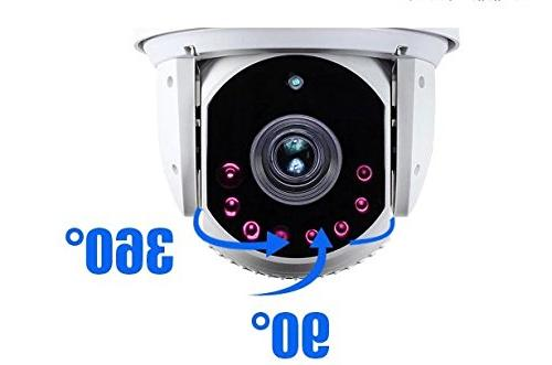 SUNBA High PTZ Security Camera, Zoom with Vision to 800ft