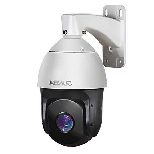sunba 601 d20x poe high speed ptz outdoor security camera 20