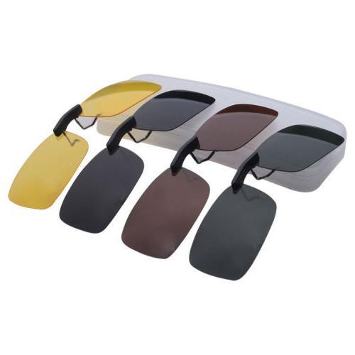 UV400 Clip On Night Vision Lens Glasses