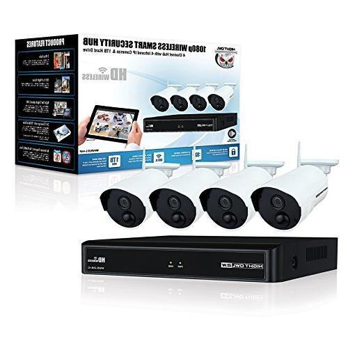 Night Owl Camera 4 Wireless Smart Hub,