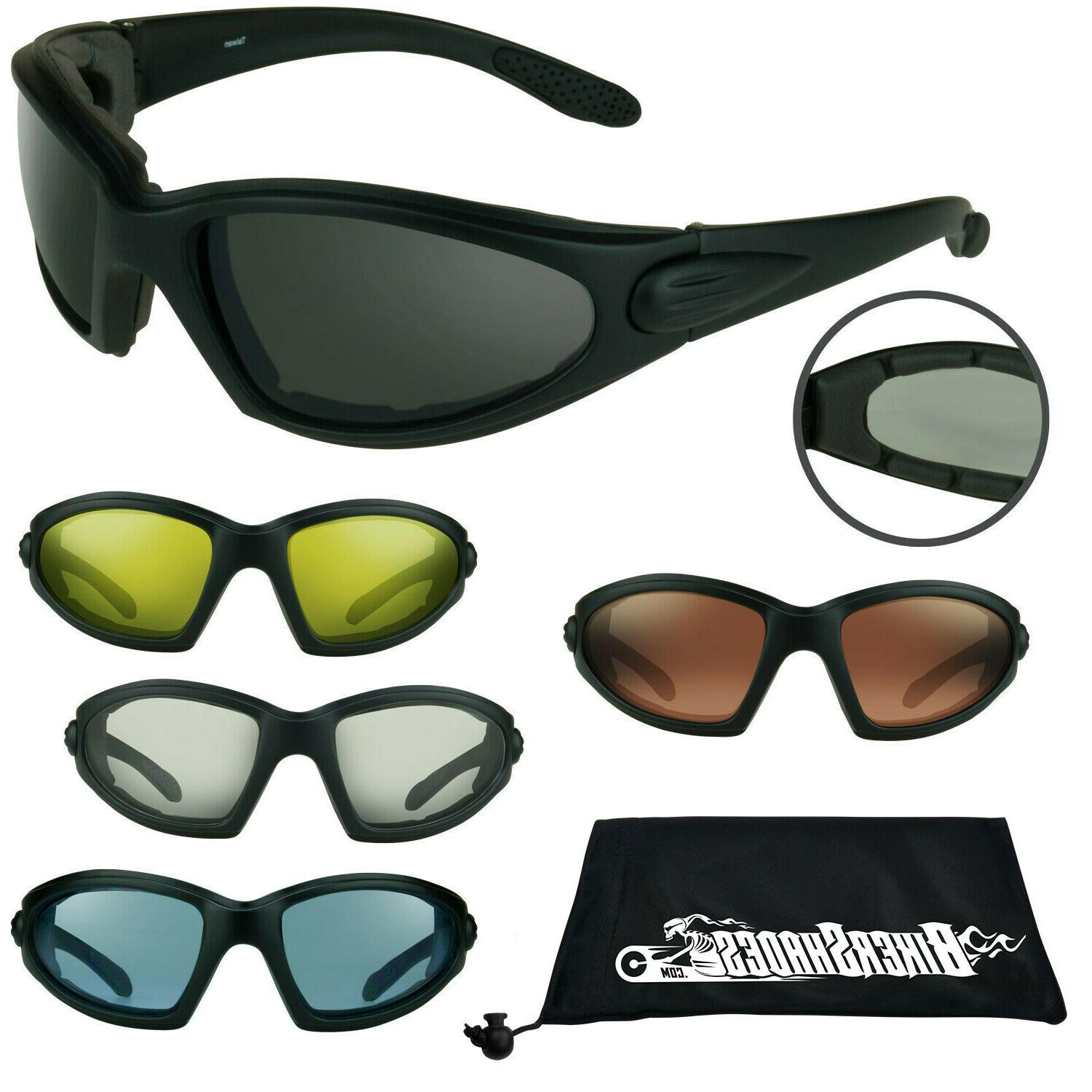 tactical motorcycle sunglasses biker goggles eye protection