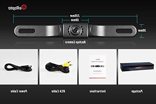 eRapta ERT01 2nd Generation Car Rear View Reversing Backup Camera...