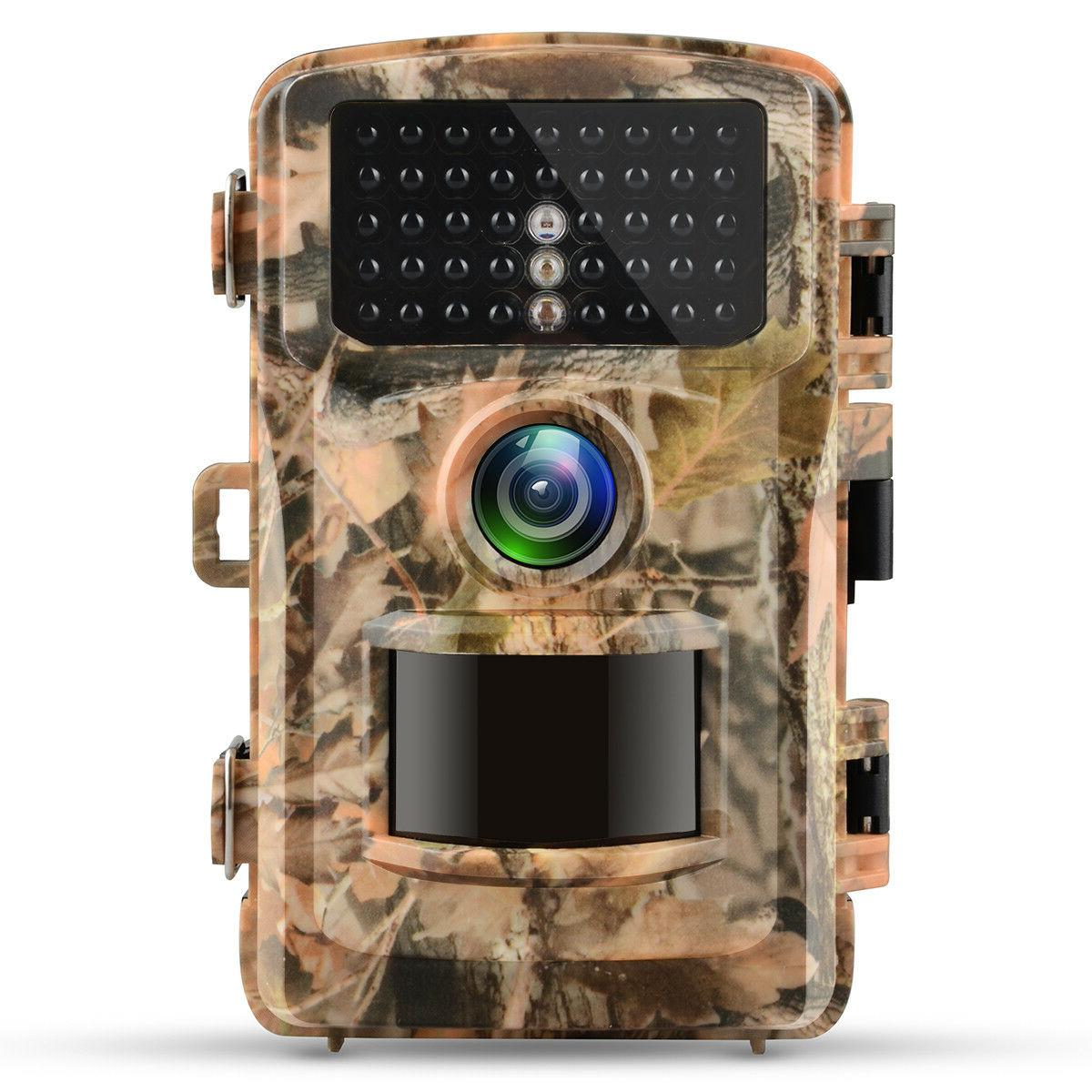 Campark 1080P HD Trail Camera Wildlife Hunting Scouting