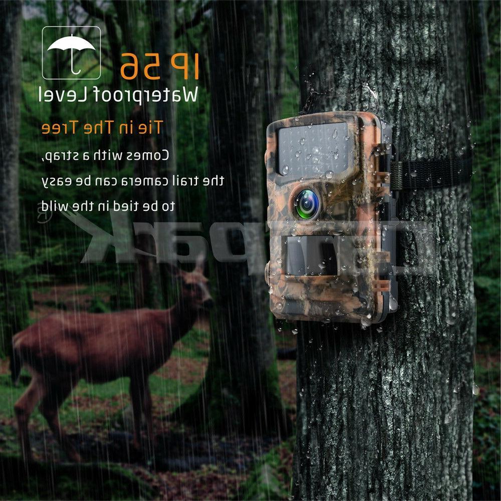 Campark 1080P Camera Wildlife Hunting Scouting IR LED Vision