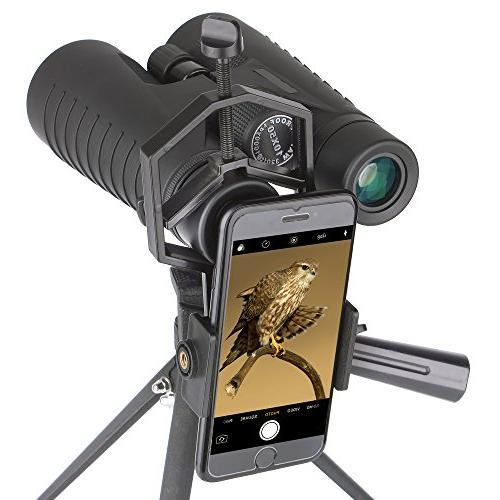 Solomark Adapter - Binocular Monocular Spotting Scope Telescope Phone Samsung Moto