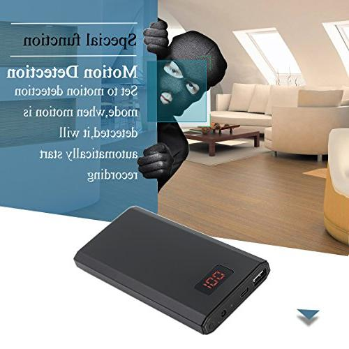 Poetele 1080P Power Bank Motion Vision,Nanny for Baby/Pet Security,Real Mobile Charger