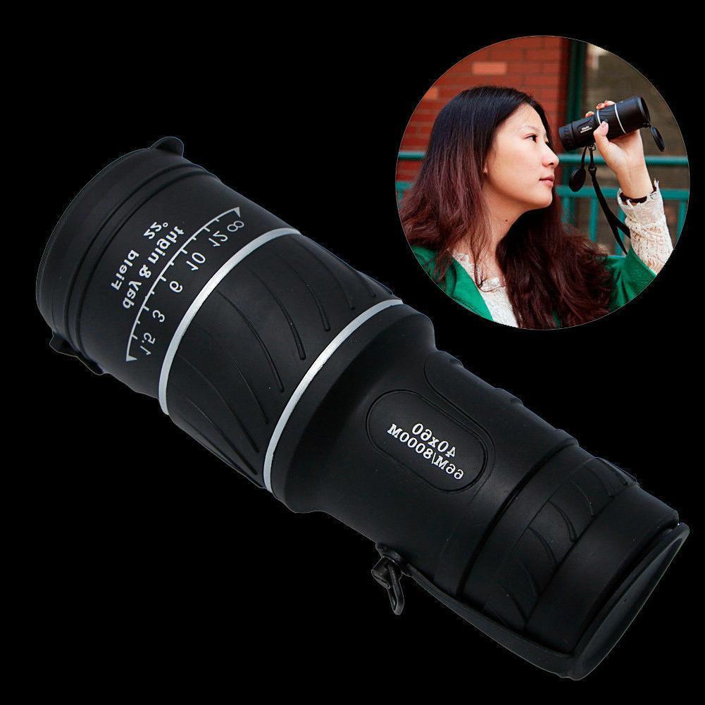 US 40X60 HD Monocular Day& Light Night Vision