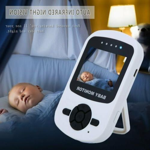 Video Baby Monitor Camera 2-Way Talk 2.4in. Digital Wireless