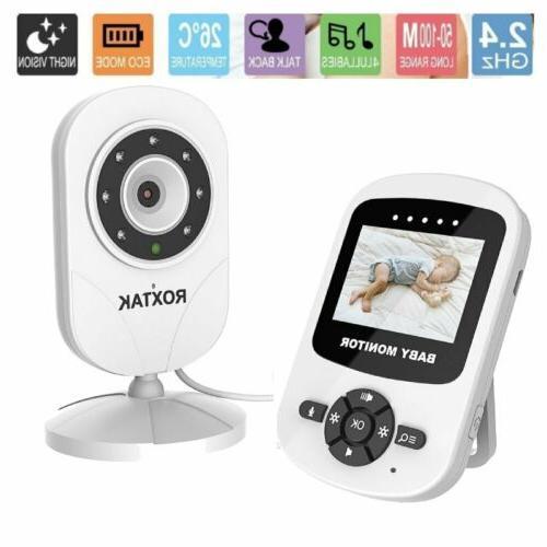 video baby monitor camera 2 way talk