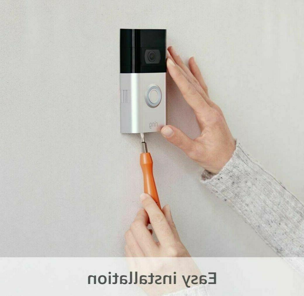 Ring Video Doorbell 1080p 2-way Security Camera Shipping
